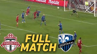 FULL MATCH REPLAY: Toronto FC vs Montreal Impact | ALL-TIME GREAT Playoff Game