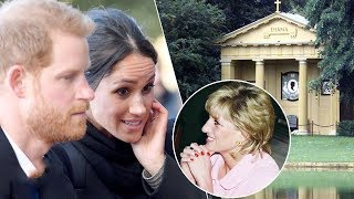 Video Emotional Meghan visits Princess Diana's resting place with Prince Harry MP3, 3GP, MP4, WEBM, AVI, FLV April 2018