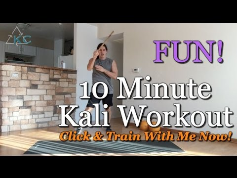 10 Minute Martial Arts Workout - Kali Center