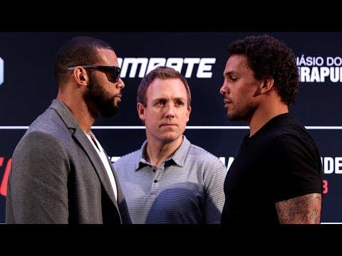 Todas as encaradas do Media Day do UFC SP