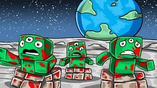 Minecraft   STOP THE ALIEN INVASION - Moon Base Defense! (Minecraft Challenge)