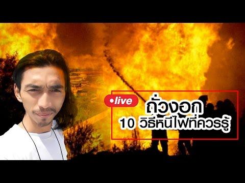 Live by ถั่วงอก | 10 วิธีหนีไฟที่ควรรู้