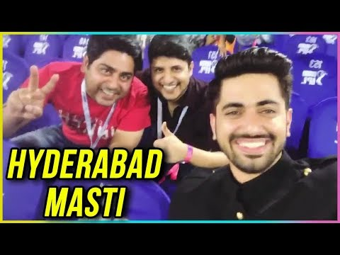 Zain Imam's OFF-SCREEN Masti In Hyderabad | Naamka