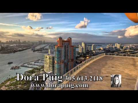 Miami's Most Sublime Penthouse at Continuum - 100 South Pointe Drive PH2, Miami Beach Pentouse