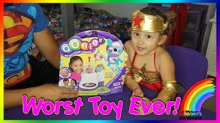 OONIES, the worst toy ever?  Oonie Review, What do you think? Family Toy Channel
