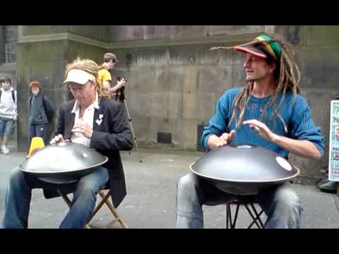 hang - http://hangplayinghedgemonkeys.com this is the Hang Playing Hedge Monkeys, live at the Edinburgh festival yesterday on the 28th of aug 09 these guys are bril...