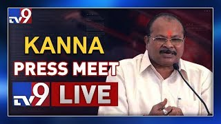 BJP Kanna Lakshminarayana Press Meet LIVE II Guntur