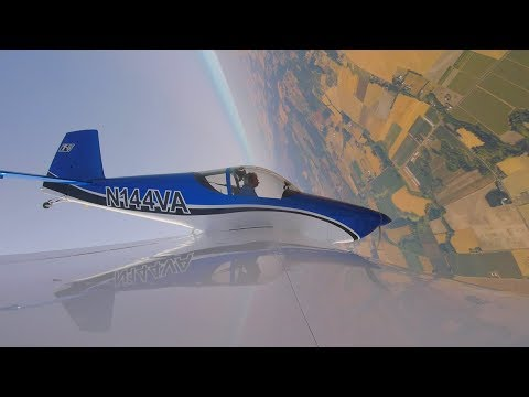 Test Flying Van's RV Aircraft Fleet: IFR + Aerobatics in one plane?! Part 1