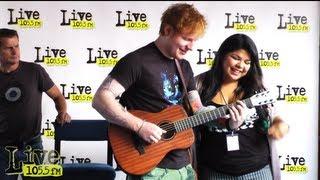 Singing Lego House with Ed Sheeran