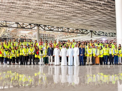 HRH Crown Prince reviews the progress of the Bahrain Airport Expansion Project