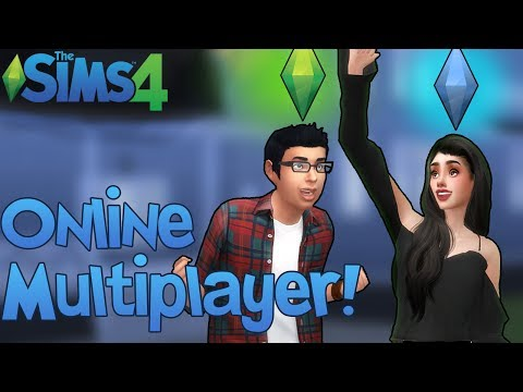The Sims 4: PLAYING WITH ONLINE MULTIPLAYER! (Multiplayer Mod Test w/ Sims Trooper)