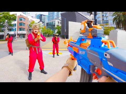 Nerf War: City Battle