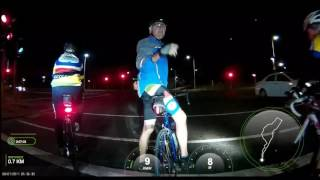 Durban street video. Cucle ride from Veluram to Casuarina. Night
