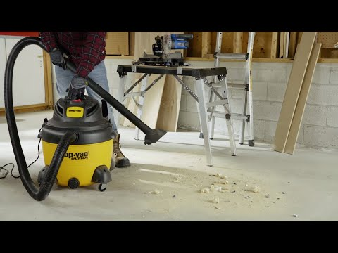 How to Choose a Wet/Dry Vacuum (4 Steps)
