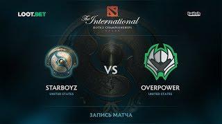 Starboyz vs Overpower, The International 2017 NA Qualifier