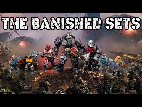 BANISHED SETS   HALO MEGA CONSTRUX