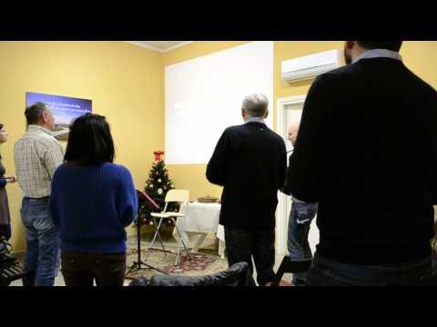 Italian worship song performed in church