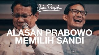 Video WOW! Ini Alasan Prabowo memilih Sandiaga Uno MP3, 3GP, MP4, WEBM, AVI, FLV Desember 2018