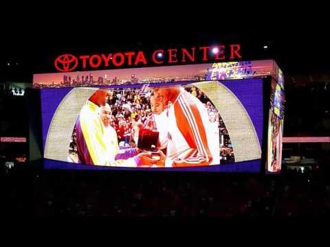 Houston Rockets pay tribute to Kobe Bryant