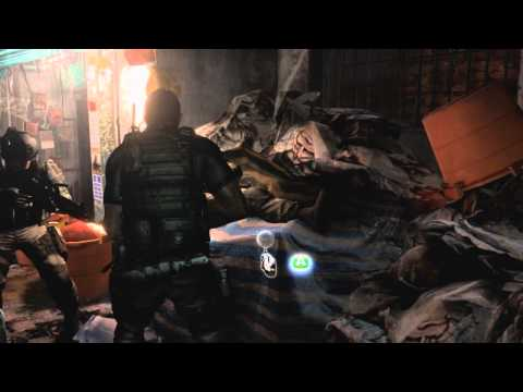 Resident Evil 6 - Chris Redfield SDCC panel footage
