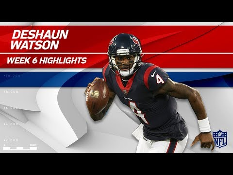 Video: Deshaun Watson Leads Houston to Victory w/ 3 TDs! | Browns vs. Texans | Wk 6 Player Highlights