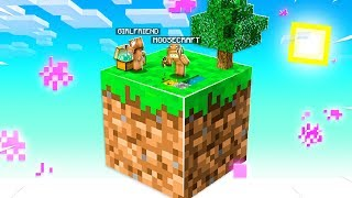 Minecraft Skyblock With My GIRLFRIEND, But You Only Get ONE BLOCK! #1