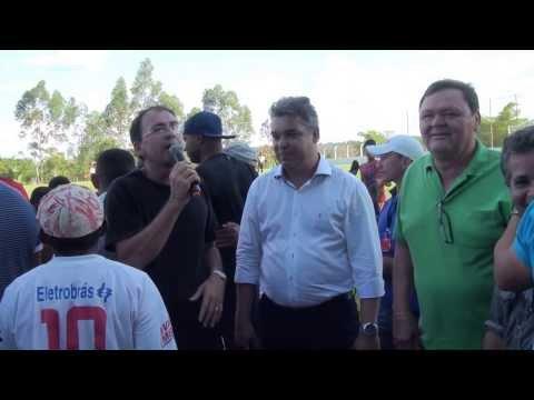Discurso do Vereador Zezé Vicente durante Evento em Luzinópolis