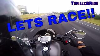 10. Harley Davidson Soft tail VS Yamaha Stryker
