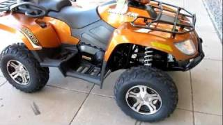 6. 2011 Arctic Cat TRV 550 Power Steering Two up luxury cruiser 4x4
