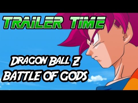Dragon Ball Z: Battle of Gods! - Trailer Time