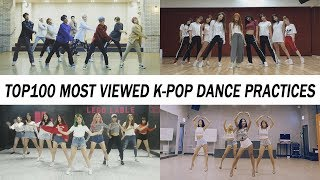 Download Lagu [TOP 100] MOST VIEWED K-POP DANCE PRACTICES • August 2018 Mp3