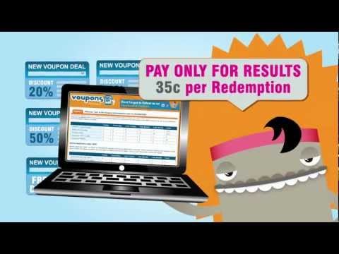 Video of Voupons Coupons Australia