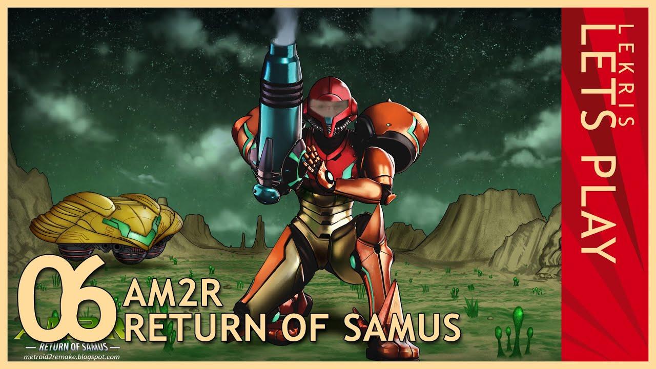 Let's Play AM2R - Return of Samus 1.0 Full Version #06 - Hydro Station - Gamma Metroid - Vario Suit