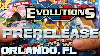 Pokemon TCG XY: Evolutions Prerelease - Opening 10 Packs of Evolutions Goodness! by Flammable Lizard