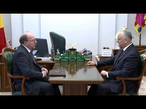 President of Moldova to meet Russian Ambassador