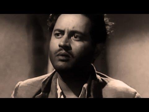 Mehmood throw aways Guru Dutt from house - Hindi Classic Movie Pyaasa, Emotional Scene 1/8