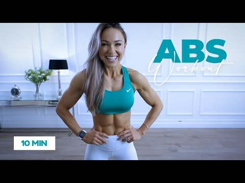 10 Min AB WORKOUT with No Equipment (NOT abs in ten minutes)
