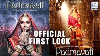 Video OFFICIAL FIRST LOOK Of Padmavati Featuring Deepika Padukone Revealed! | LehrenTV MP3, 3GP, MP4, WEBM, AVI, FLV November 2017