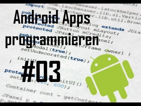 Android Apps programmieren - Teil 3 - Seitennavigat ...