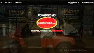 7. 2012 E-Z-GO TXT Shuttle 2+2 - for sale in Pensacola, FL 32506