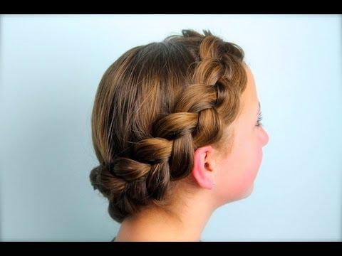 Wrap-Around Dutch Pancake Braid | Cute Girls Hairstyles