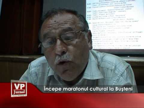Începe maratonul cultural la Buşteni