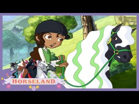 Horseland: Cry Wolf // Season 1, Episode 4 Horse Cartoon 🐴💜
