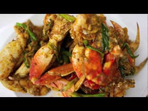 ... Cha Kroeung (Stir fried dungeness crab with lemongrass & chili paste