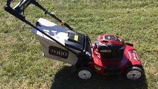 2. Toro Personal Pace Recycler Lawn Mower Model 20334 - It's Electric Final Look & Start - Oct. 2, 2015