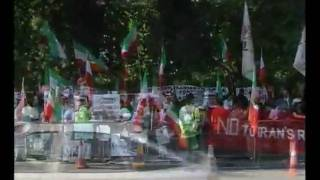 London 20 June 2010 Neda's Memorial , Unity Of Iran's Monarchy Party&worker-communist Party