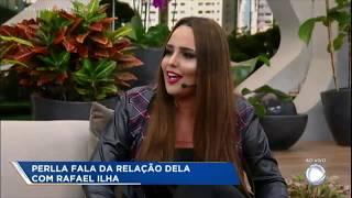 Rafael Ilha grava depoimento para Perlla