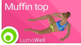 Muffin top workout: exercises to get rid of love handles - YouTube