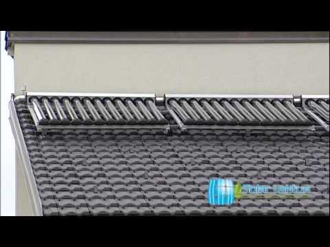 Grijanje i topla voda pomoću sunčevih kolektora