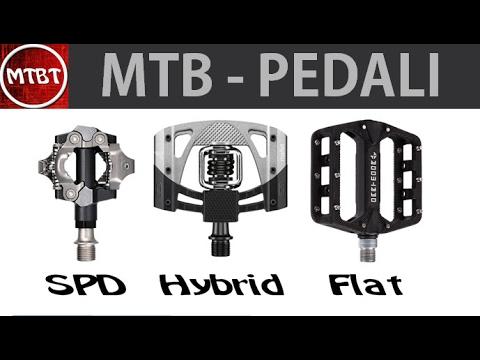 Guida ai pedali per MTB - SPD - IBRIDI - FLAT vantaggi e svantaggi   MTBT